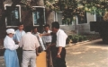 kim-joo-handing-over-sprayer-from-sk-at-grri-naari-aug-1998