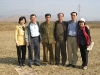 kim-joo-with-north-and-south-agr-specialists-chondukri-oct-2006