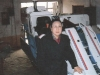 kim-joo-with-the-1st-sk-grain-harvester-provided-by-sk-catholic-fund-arranged-by-monsig-augustine-park-of-orange-nj-1997